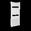 Radiator electric portprosop Deltacalor Goccia 750 + 800 Watti cu funcție de dezumidificare (alb - 500 mm)