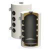 Rezervor puffer- răcire / încălzire Sunsystem PSM 80 cu izolație pentru pompă de căldură (80 litri)
