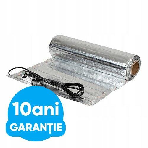 COVOR  DE ÎNCĂLZIRE ELECTRICA, pentru podele laminate FALCON U- heat  Alu-Mat