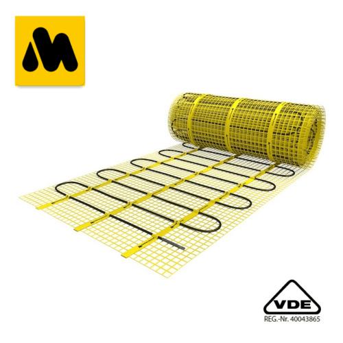 Covor electric MAGNUM Mat 12 m2 =1500 W  (125W/m2) încălzire electrică prin pardoseală