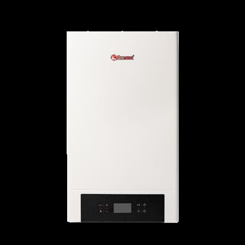 Centrala electrica THERMEX E906 - 7 kW pentru încălzire și completat cu un rezervor indirect de apă caldă menajeră, pentru producerea apei calde